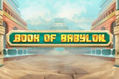 Book of Babylon Slot Logo
