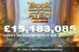 Microgaming Book of Atem WowPot Jackpot Win for Lucky UK Player