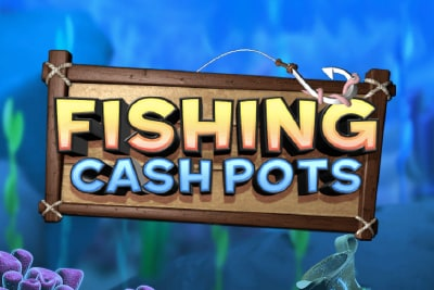 Fishing Cash Pots Slot Logo