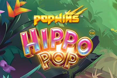 Hippo Pop Slot Logo