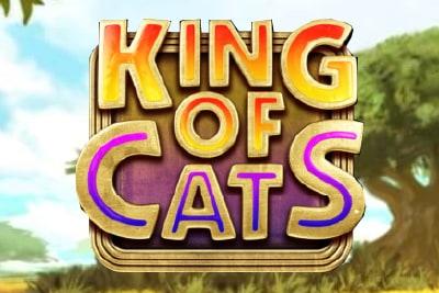 King of Cats Slot Logo