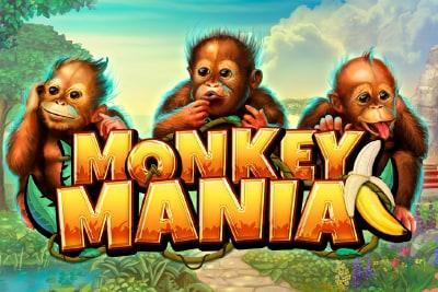 Monkey Mania Slot Logo