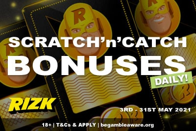 Get Your Daily Rizk Casino Bonuses In May 2021