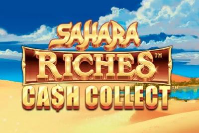 Sahara Riches Cash Collect Slot Logo