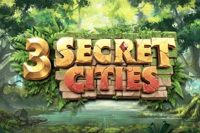 3 Secret Cities Slot Logo
