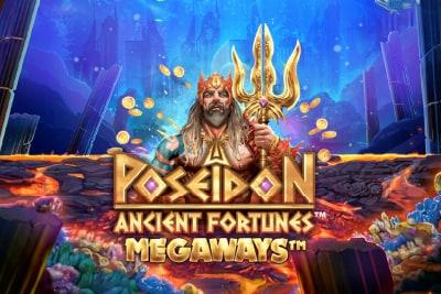 Ancient Fortunes Poseidon Megaways Slot Logo