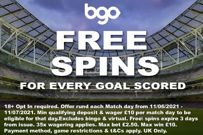 Get Your BGO Casino Free Spins In 2021