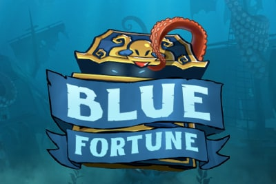 Blue Fortune Slot Logo
