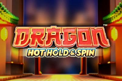 Dragon Hot Hold & Spin Mobile Slot Logo