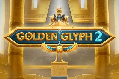 Golden Glyph 2 Slot Logo
