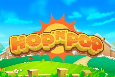 Hop n Pop Slot Logo