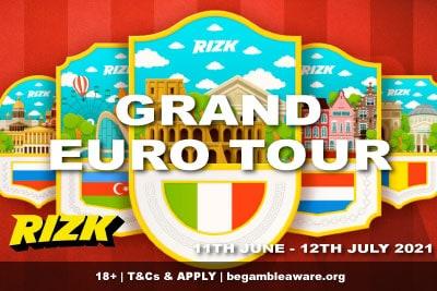 Rizk Casino Grand Euro Tour Promotion