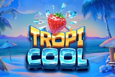 Tropicool Mobile Slot Logo