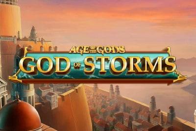 Age of the Gods God of Storms Slot Logo