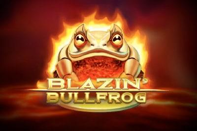 Blazin Bullfrog Slot Logo