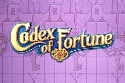 Codex of Fortune Mobile Slot Logo
