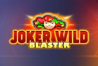 Joker Wild Blaster Slot Logo