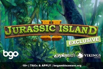 Play Jurassic Island 2 Mobile Slot Exclusively at BGO Casino
