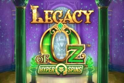 Legacy of Oz Slot Logo