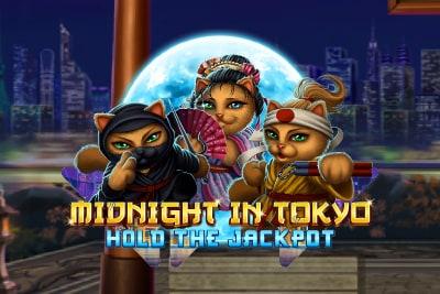 Midnight In Tokyo Mobile Slot Logo