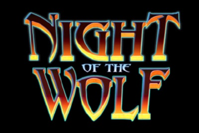 Night of the Wold Mobile Slot Logo