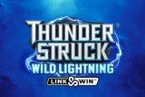 Thunderstruck Wild Lightning Mobile Slot Logo