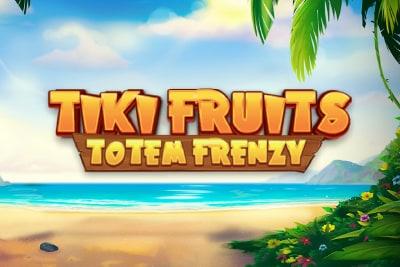Tiki Fruits Totem Frenzy Slot Logo