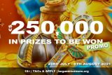 Win Real Cash Prizes & Go For Gold In 2021