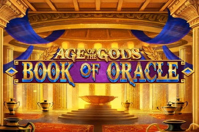 Age of the Gods Book of Oracle Slot Logo