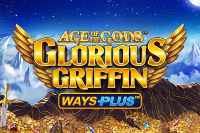 Age of the Gods Glorious Griffin Slot Logo