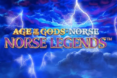 Age of the Gods Norse Legends Slot Logo