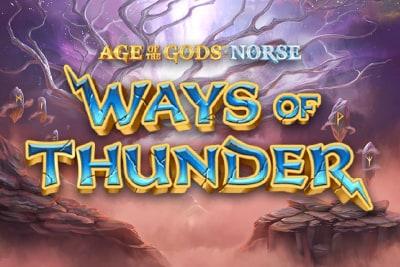 Age of the Gods Norse Ways of Thunder Slot Logo