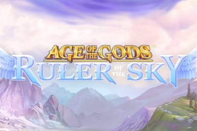 Age of the Gods Ruler of the Sky Slot Logo