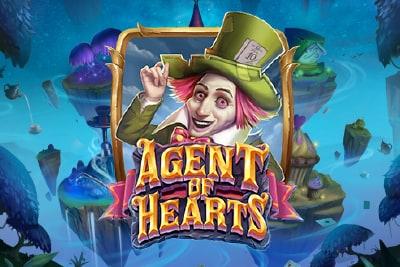 Agent of Hearts Slot Logo