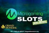 Grand Mondial Casino Big Wins On Microgaming Slots