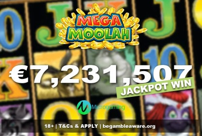 Mega Moolah Jackpot Win - August 2021