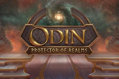 Odin Protector Of Realms Slot Logo