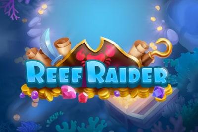 Reef Raider Slot Logo