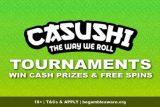 Play to Win Casushi Casino Slot Tournaments