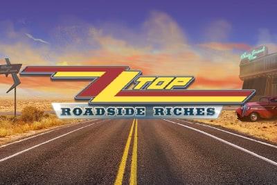 ZZ Top Roadside Riches Mobile Slot Logo