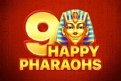 9 Happy Pharaohs Slot Logo