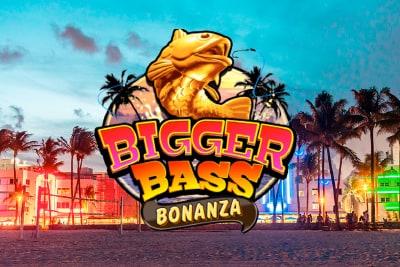 Bigger Bass Bonanza Slot Logo