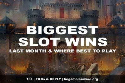 Biggest Slots Wins Last Month