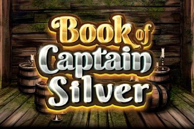 Book of Captain Silver Slot Logo