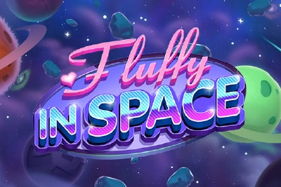 Fluffy In Space Slot Logo