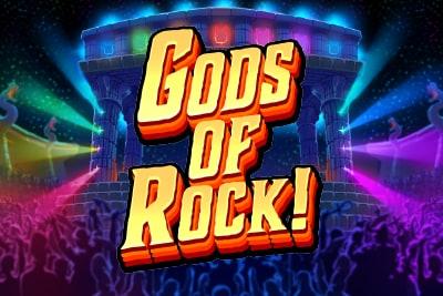 Gods of Rock Slot Logo