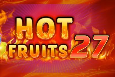 Hot Fruits 27 Slot Logo