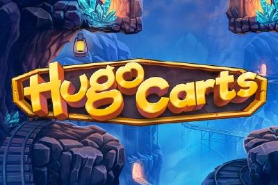 Hugo Carts Slot Logo