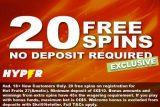 Get Your Exclusive Hyper Casino No Deposit Free Spins Bonus