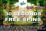 Get 30 Seconds of Free Spins at Mr Green Mobile Casino